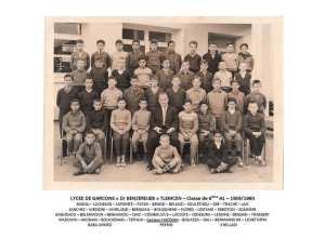 1959 - 6ème A1 - Docteur benzerdjeb