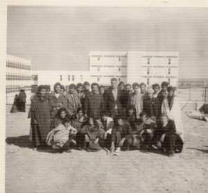 1975 - Groupe d'Elèves Lycée Naim Naimi Djelfa - Naïm-nouaïmi