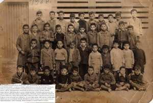 1956 - cours préparatoire 1 - Ecole nouvelle garcon