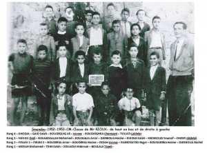 1953 - CM1 - Ecole communale de condé-smendou