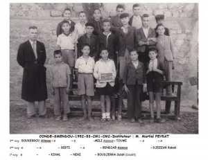 1953 - CM2 - Ecole communale de condé-smendou