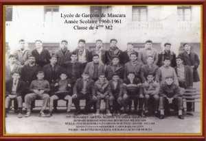 1961 - 4eme M2 - College classique et moderne de garcons