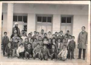 1970 - Classe de Mr SI SALHI - Ecole boucherit