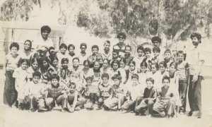1981 - Cinquième année de primaire - Ecole primaire en-nadjah bougtob