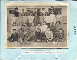 1962 - 5ème classique 1962 - College paul langevin