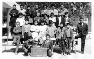 1967 - 6ème M2 1966-1967 - C.e.g mouloud feraoun