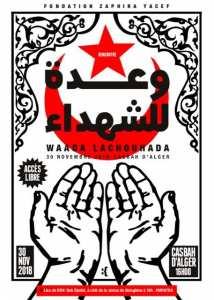La fondation Zaphira Yacef organise waada Lachouhada ce vendredi