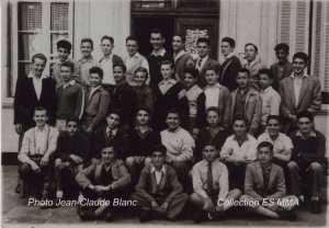 1953 - Classe de 4° - Ceg clauzel