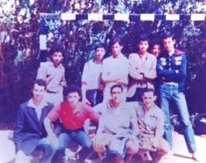 1983 - La Golden Team du Lycée - Lycée ben omar, kouba