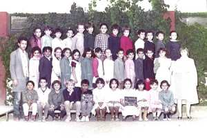 1985 - 4AF 1985-86 - Ecole primaire rostomia 3 (clairval)