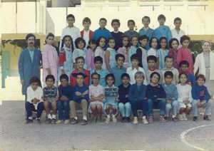 1986 - 5AF 1986-87 - Ecole primaire rostomia 3 (clairval)