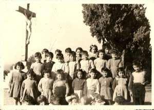 1954 - MATERNELLE - Ecole sainte monique notre dame d'afrique