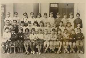 1959 - Cours préparatoire - Ecole les sources