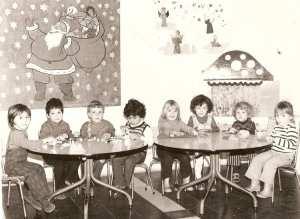 1975 - 2° année maternelle - Ecole de l'ambassade de france