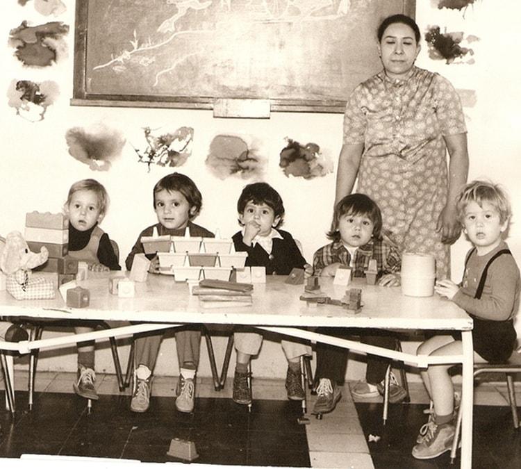 1974 - 1° année maternelle - Ecole de l'ambassade de france