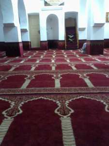 Interieur de la mosquée des Gueddarines à Nedroma (wilaya de Tlemcen)