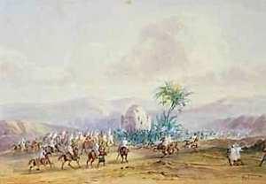 La bataille de Sidi Brahim selon Gaspard Gobaut.