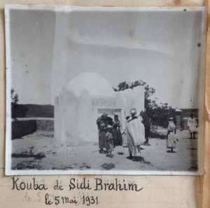 Kouba de Sidi Brahim, le 5 mai 1931
