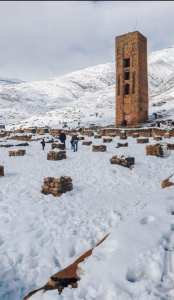 Minaret et Mosquée, Kalaâ des Béni Hammad... !