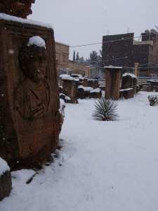 Le site de Tazoult, Batna à l'heure d'hiver... !