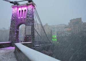 Constantine sous la neige