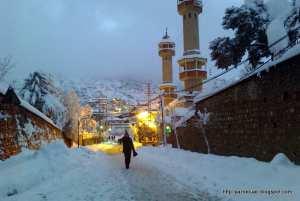 guenzet sous la neige (2019)