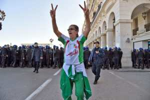 Les manifestations d'Alger en photos contre le 5ème mandat de Bouteflika