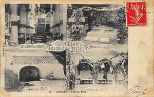 Algerie - TLEMCEN - Souvenir Hiloula - Synagogue - Cour - Tombeau