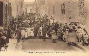 TLEMCEN - Synagogue du Rab Jour du Grand Pardon