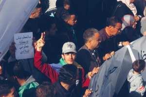 مظاهرات برج بوعريريج ضد العهدة الخامسة و ضد التمديد والتأجيل