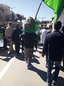 مظاهرات برج بوعريريج ضد العهدة 5