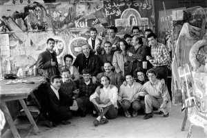Ecole supérieure des Beaux-Arts. Anniversaire Denis Martinez. 30 Novembre 1991
