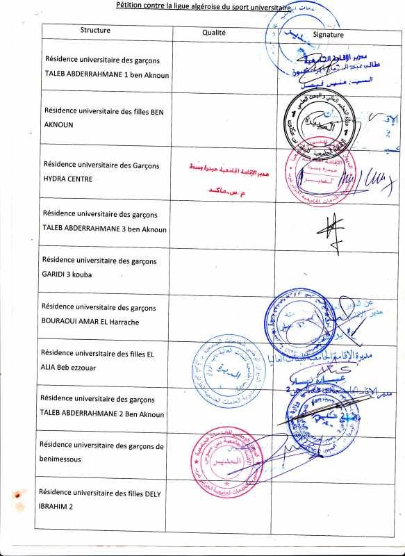 Les établissements boycottent la ligue wilaya du sport universitaire