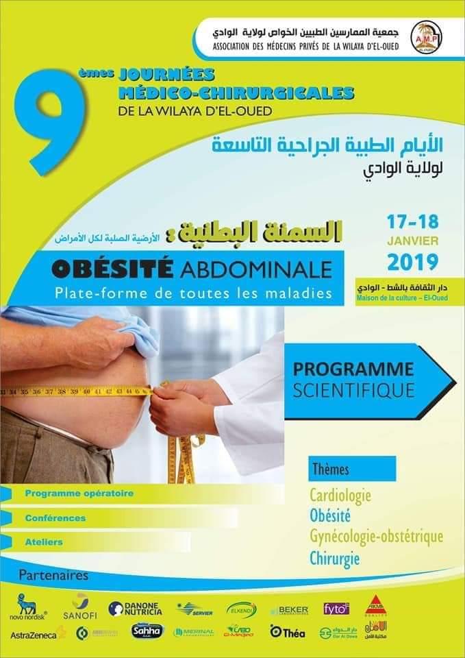 Journée médicale sur l'obésité abdominale.