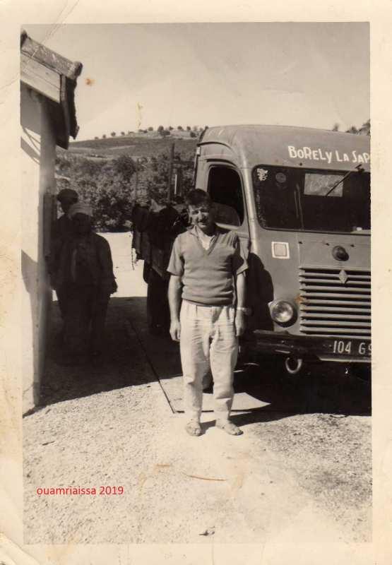 le premier maire de ouamri ex borely la sapie 1962