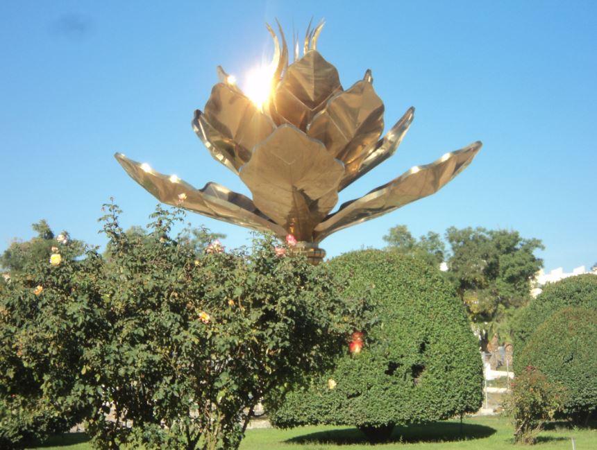 Sétif rénové - fleur de lotus déplacée