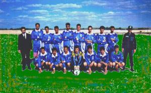 أول فريق كرة قدم للحرس البلدي
