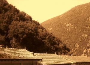 Sur le dessous des montagnes..