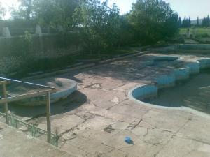 piscine abandonn�e