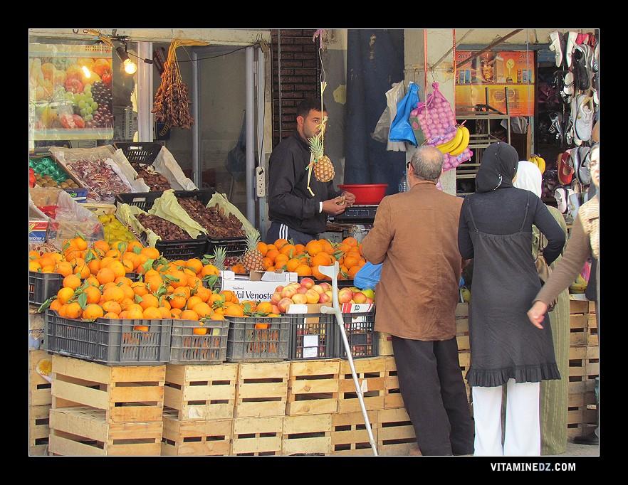March des fruits et l gumes nedroma tlemcen - Fruits et legumes de a a z ...