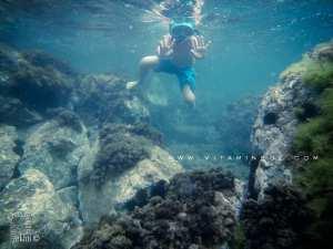 Fond sous marin de Boukhenaïs, plage sauvage entre ghazaouet et El Bkhata (Tlemcen)