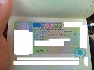 félicitation 08 em visa Espagne pour notre infirmier