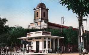 photo du centre ville de la wilaya de batna en 1970
