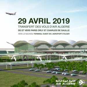 Communiqué Air Algérie : Nouvel aéroport d'Alger