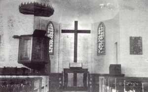 Interieur du temple protestant de Tlemcen
