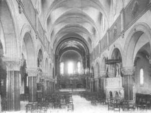 Interieur de l'église saint Michel de Tlemcen