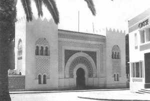 La médersa de Tlemcen (puis lycée franco-musulman de Tlemcen)