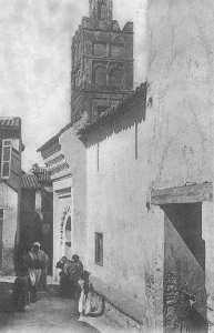 Rue Beni Ziene (Tlemcen) Mosquée Sidi Yeddoun