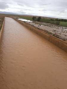 تسببت الفيضانات التي مست قرية ماقورة بالحدود الغربية لولاية تلمسان في خسائر فادحة للفلاحيين.