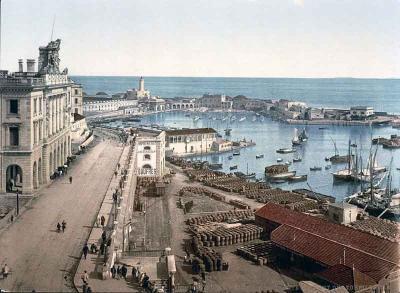 الجزائر العاصمة سنة 1890